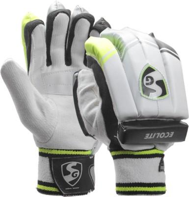 SG Ecolite Batting Gloves (L, Assorted)