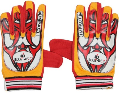 Blue dot impact Goalkeeping Gloves (Free Size, Multicolor)