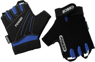 Cosco Power 28072-3 Gym & Fitness Gloves (L, Multicolor)