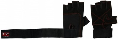 Body Sculpture Weight Lifting BW-95M-B Gym & Fitness Gloves (M, Black)