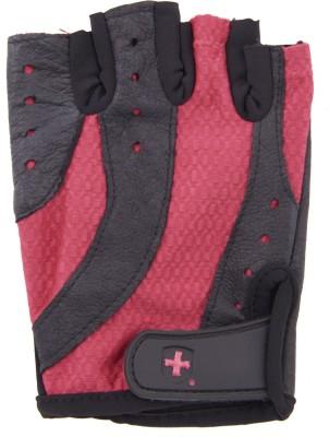 Harbinger 138 Gym & Fitness Gloves (M, Black, Red)
