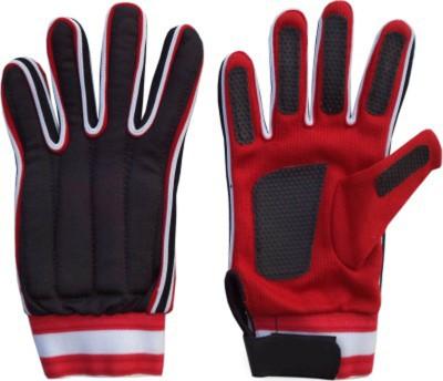 monika sports moni Football Gloves (M, Red, Black)