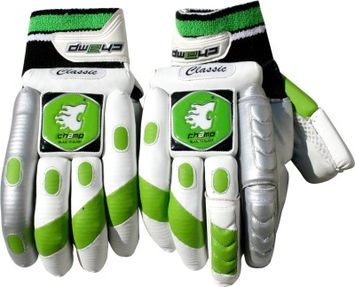 Champ Classic Batting Gloves (XL, White)