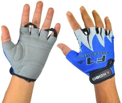 Kobo CG-01 Cycling Gloves (L, Blue)