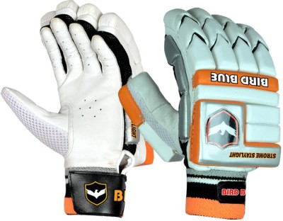 Birdblue Strome Staylight Batting Gloves (Men, White, Orange)