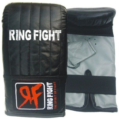 Ring Fight Punching Gloves Boxing Gloves (M, Black, Grey)