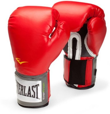 Everlast Pro Style Training Boxing Gloves (S, Red)