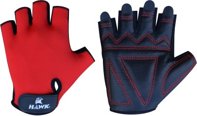 Hawk XT170 Gym & Fitness Gloves (S, Red, Black)
