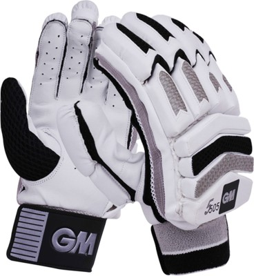 GM 505 Batting Gloves (Men, White)