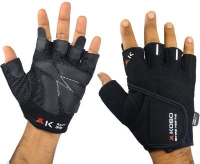 Kobo WTG-06 Gym & Fitness Gloves (S, Black)