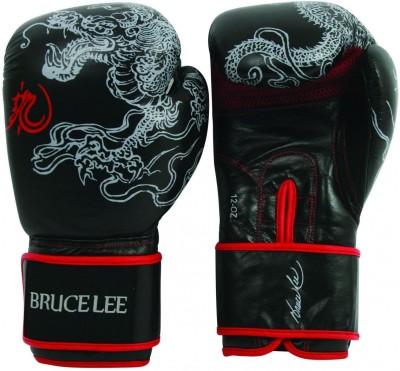 Brucelee bruc lee dragon boxing gloves 12oz Wicket Keeping Gloves (Free Size)