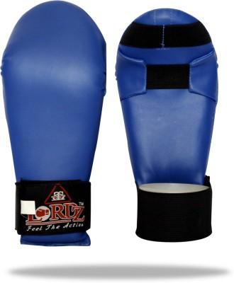 Lordz Karate Martial Art Gloves (M, Blue)