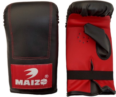 Maizo Punching Boxing Gloves (L, Black, Red)