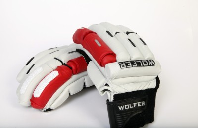 Wolfer Player Edition (Right Hand) Batting Gloves (Men, Red)
