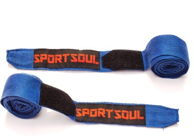SportSoul Cotton Boxing Gloves (Men, Blue)