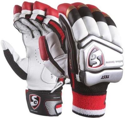 SG Test Cricket Batting Gloves (Youth, Multicolor)