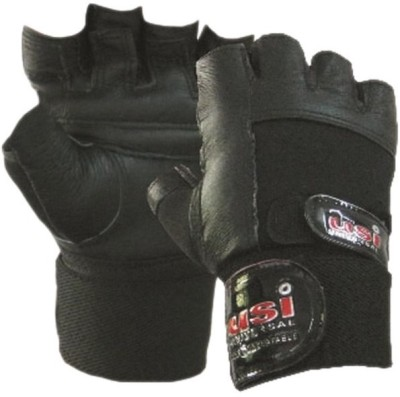 USI W/L Gym & Fitness Gloves (S, Black)