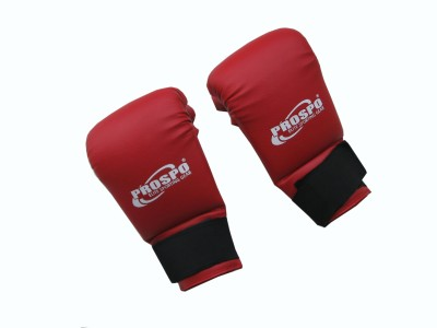 PROSPO Taekwondo Martial Art Gloves (Free Size, Red, Blue)