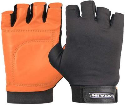 Nivia Gym Dragon Gym & Fitness Gloves (Size-L, Orange)