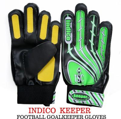 Indico Keeper PU Football Gloves (Men, Multicolor)