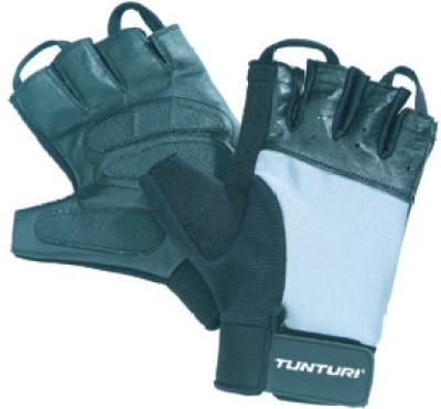 Tunturi Pro Gel Gym & Fitness Gloves (M, Black, Grey)