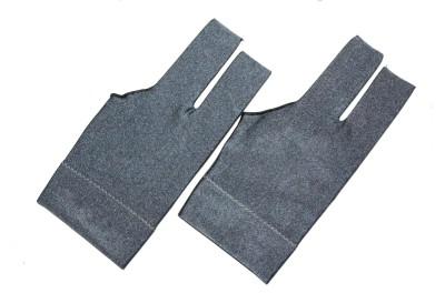 Billiedge Grey Nail Cut (Pack Of 2) Gym & Fitness Gloves (Free Size, Grey)