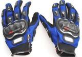 Pro Biker Riding Riding Gloves (M, Blue,...