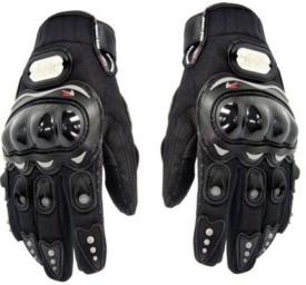 P A PROBIKER(FULL)-BLK-XL-151 Cycling Gloves (L, Black)