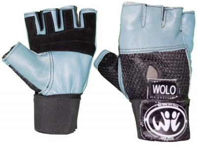 Wolo Influence Gym & Fitness Gloves (Free Size, Grey)