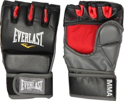 Everlast Grappling Boxing Gloves (L, Black)