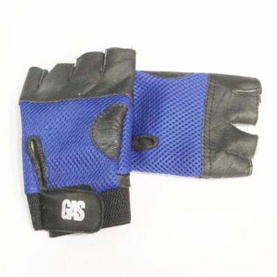 GAS Macho Gym & Fitness Gloves (Free Size, Blue)