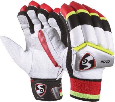 SG Club Batting Gloves (L, Multicolor)