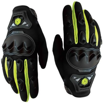 Scoyco FBZ Riding Gloves (XL, Black, Green)