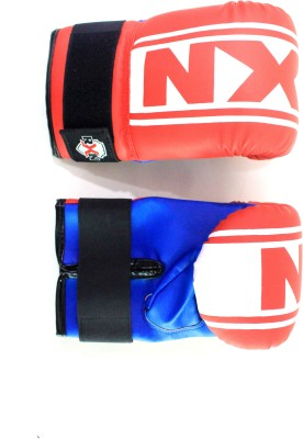 RXN Punching Boxing Gloves (L, Red, Blue)