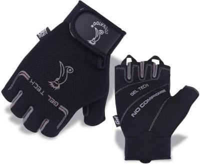 Cockatoo WLG012-Black Gym & Fitness Gloves (L, Multicolor)