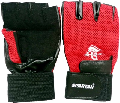 Spartan Top Gym & Fitness Gloves (L, Red)