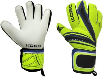 Kobo Pro Grip Goalkeeping Gloves (M, Green)