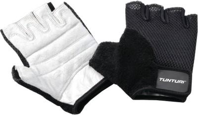 Tunturi Fit Easy Gym & Fitness Gloves (XL, Black, White)