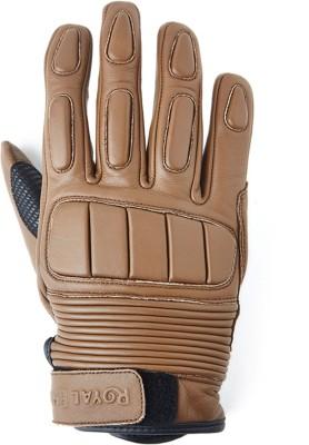 Royal Enfield lg03 Riding Gloves (L, Brown)