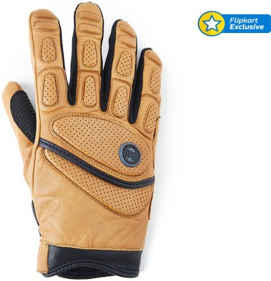 Royal Enfield lg01 Riding Gloves (XL, Brown)