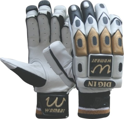 Wombat Din In Batting Gloves (L, White)