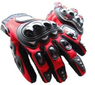Pro Biker FBZ Riding Gloves (XXL, Red)