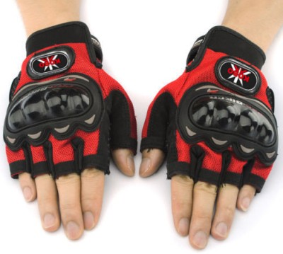 Pro Biker 3810 Cycling Gloves (XL, Red)