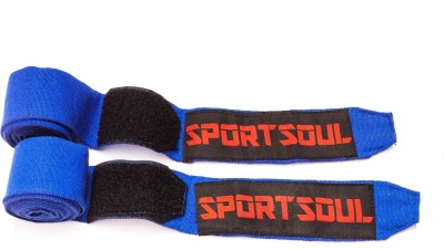 SportSoul Stretchable Boxing Gloves (Men, Blue)
