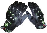 Monster Upbeat Riding Gloves (L, Black)