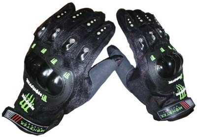 Monster Upbeat Riding Gloves (L, Black)