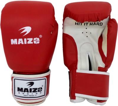 Maizo Aerobic Boxing Gloves (M, Red, White)