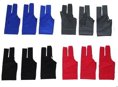 Billiedge Nail Cut Pack Of 12 Billiard Gloves (Free Size, Multicolor)