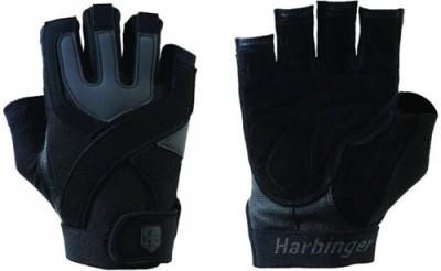 Harbinger Fitness Mens Training Grip Gym & Fitness Gloves (XXL, Black)