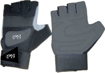 Personal Health Real Gym & Fitness Gloves (M, Grey)
